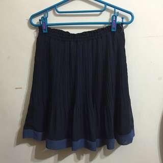 九成新✨U're藍色裙子