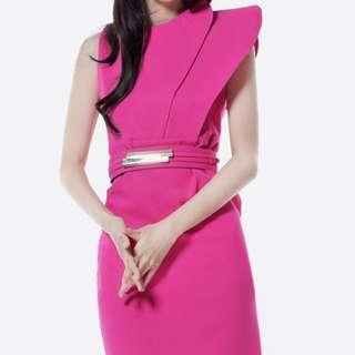 Hot Pink Dress - size S