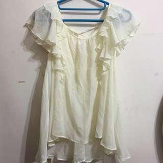 九成新✨白色薄上衣