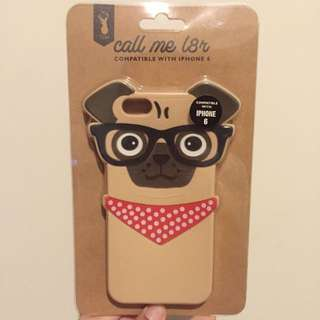 Iphone 6 Pug Case