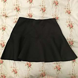 [二手]forever 21 黑色短裙