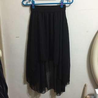 九成新✨前短後長紗裙