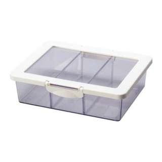 ikea 三格收納盒