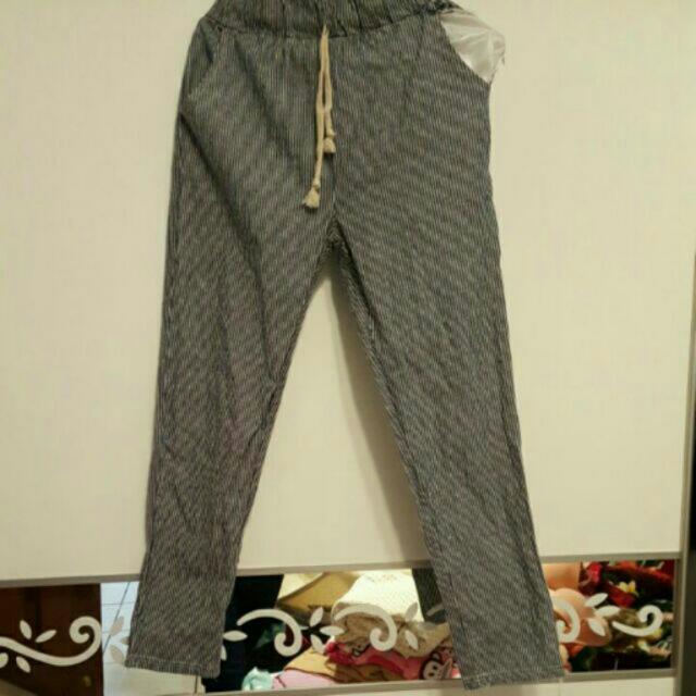 全新💥條紋老爺褲