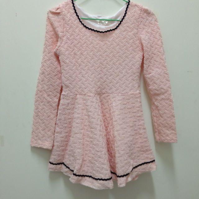 (參加婚禮)粉色洋裝
