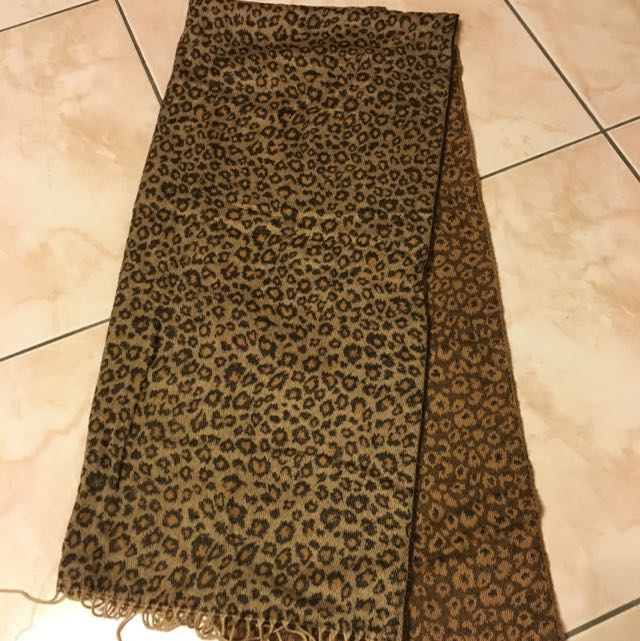 豹紋圍巾🎈