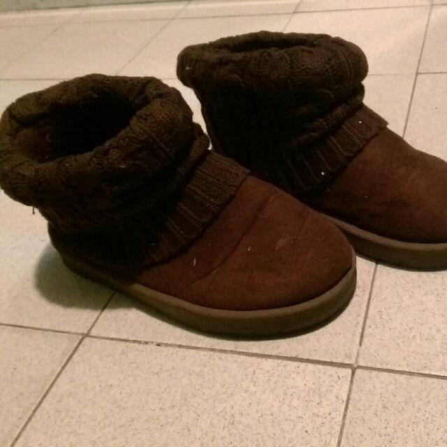 🎊二手🎊反折 雪靴