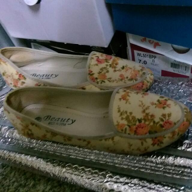 🎊二手🎊 碎花 娃娃鞋