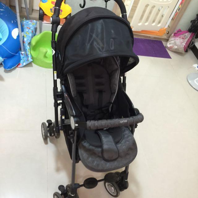 日本Aprica極輕量嬰兒雙向推車