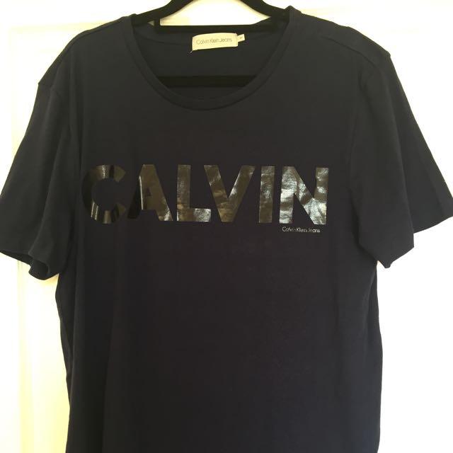 Calvin Klein T-shirt Sz:M