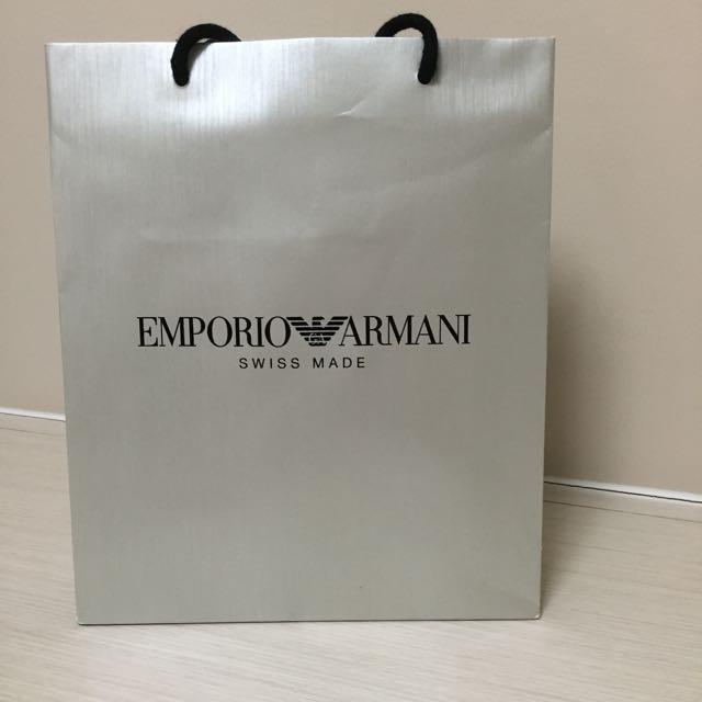 Emporio Armani Paper Bag 06546710c8275