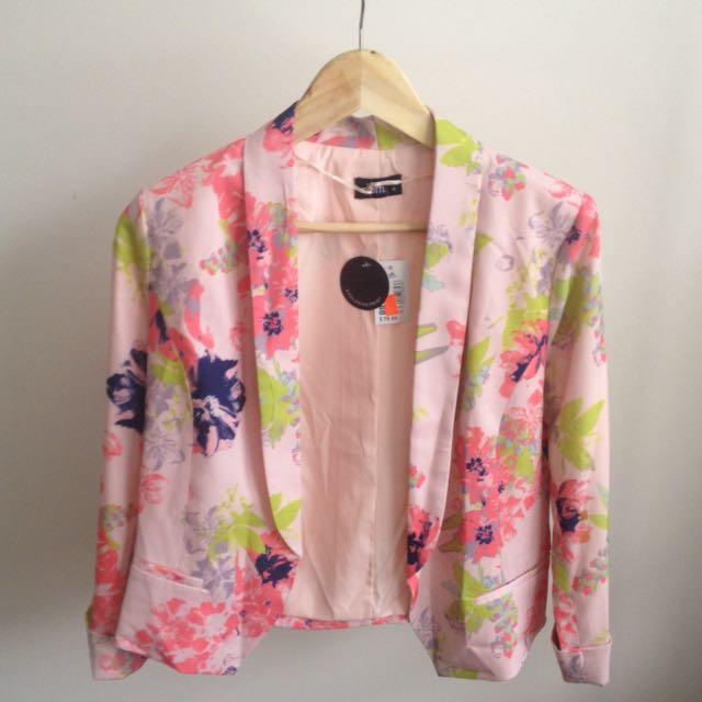 Floral 3/4 Jacket