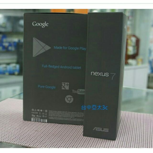 Google Nexus 7 32GB全新👆未使用4600含運
