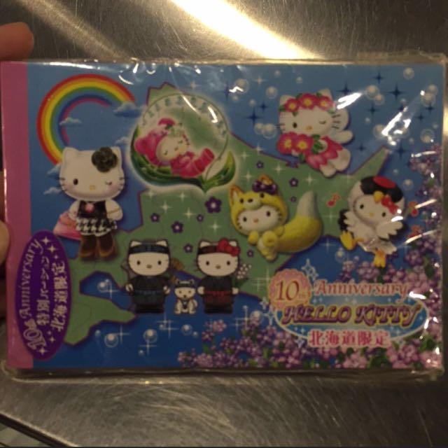 北海道限定-Hello Kitty便條紙