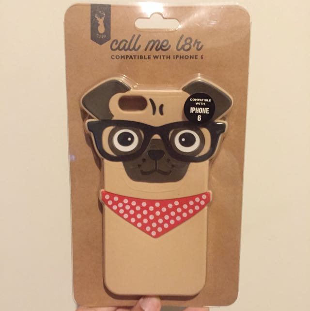 Iphone 6 Pug Case