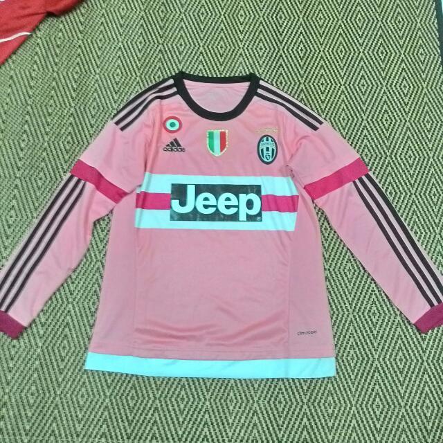 30e59366ed6 Juventus Away 15 16 Long Sleeve Saiz S