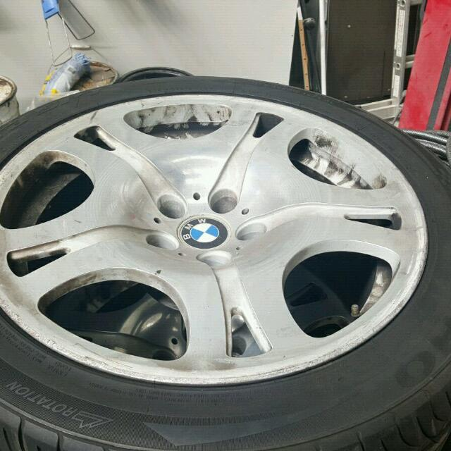 Original BMW 7 SERIES Rims And Tyres