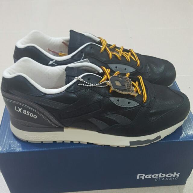 bcd4fe1bf916 Reebok LX 8500 Premium (Black   Solid Grey)