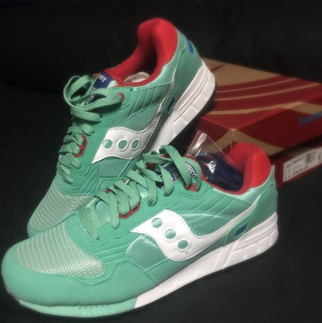 premium selection c599d 02d51 Saucony Shadow 5000 Minty Fresh, Sports on Carousell