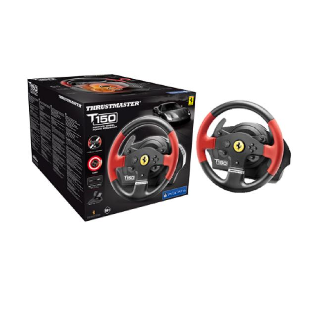 Thrustmaster T150 Ferrari Wheel Force PS4 / PS3, Toys