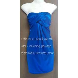 LITTLE BLUE DRESS SIZE M/L