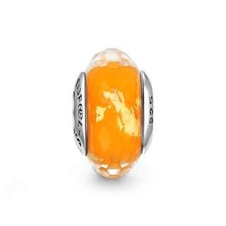 郵寄免運☆正品現貨☆SOUFEEL 索菲爾 925純銀串珠 橘子汽水 冰晶 琉璃 Pandora適用