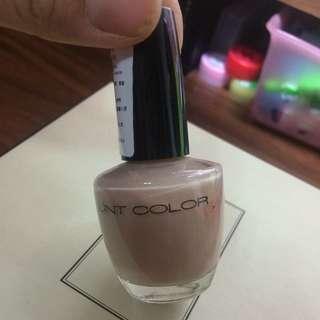 Unt裸色粉色指甲油