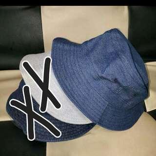 百搭牛仔帽。漁夫帽