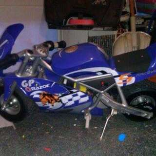 Razor Pocket Rocket 24V Mini Bike Electric Motorcycle - blue