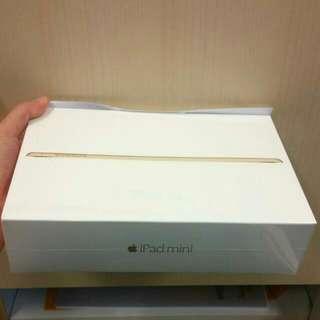 Brand New!! IPad Mini 4 16GB Gold