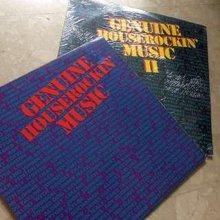 Vinyl Genuine Houserocking Music I &II