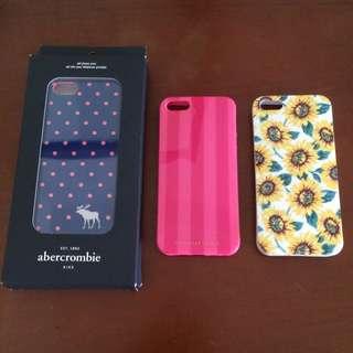 iPhone 5/5s A&F Victoria's Secret 維多利亞的秘密 Pacsun手機殼(硬殼/軟殼/軟殼)
