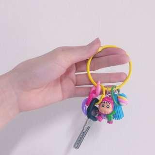蠟筆小新鑰匙圈/零錢包