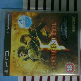 Resident Evil 5 Ps3 Used Game