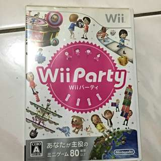 Wii 任天堂 Wiiparty