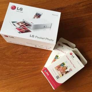 LG Pocket Photo Printer PD233