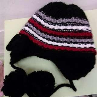 可愛毛線帽