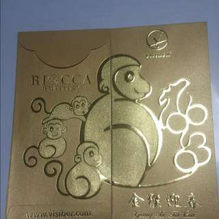 Red Packet Riocca Jewellery  AngBao