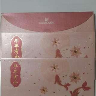 Red Packet Swarovski Ang Bao with Crystal