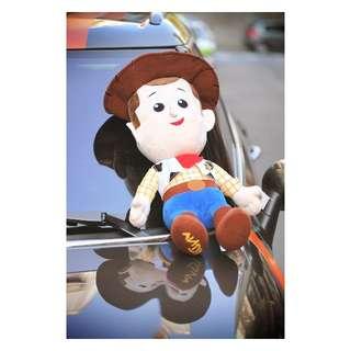 好市多 正版迪士尼 Toy story 玩具總動員 大形絨布玩偶 熊抱哥 胡迪 生日禮物 交換禮物 禮品 耶誕節 情人節