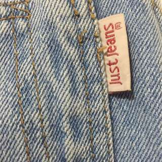 Just Jeans Denim Overall