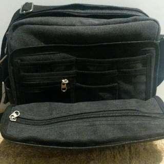 Canvas travel bag shoulder