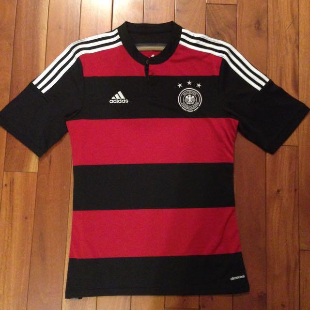 歡迎議價)2014世足賽冠軍德國客場球衣(絕版品)