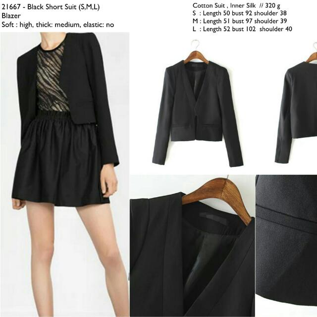 21667 Short Office Blazer