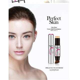 #徵收# 韓國Perfect Skin~完美保濕精華粉底條 色號23 自然色