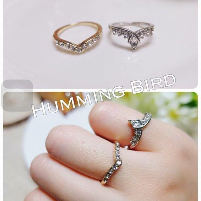 2款皇冠戒指