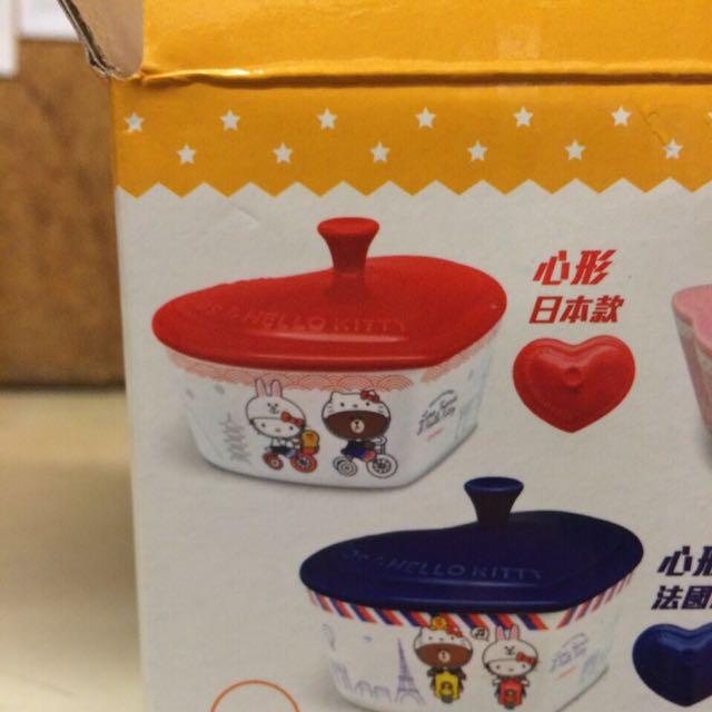 7-11 Kittt烤盤(紅色愛心)