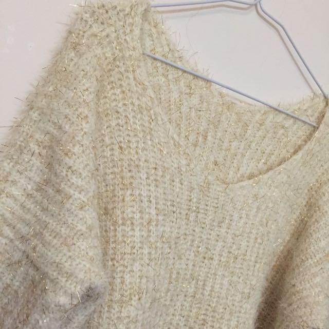金蔥針織毛衣