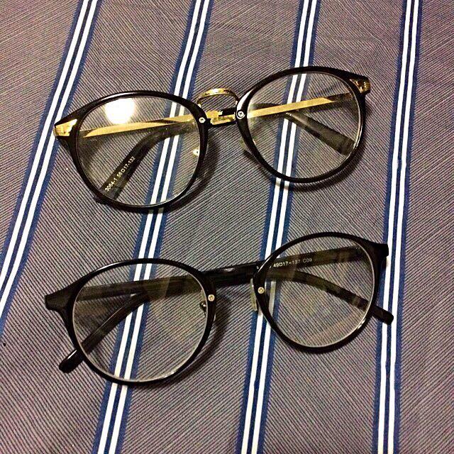 時尚圓框眼鏡👓