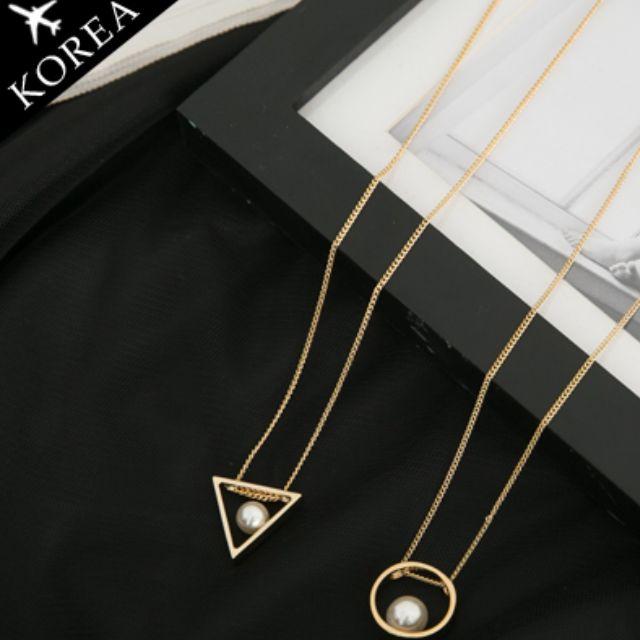 全新 正韓 三角 項鍊